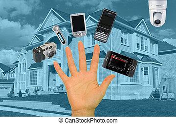 maison, numérique