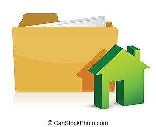 maison, paperasserie