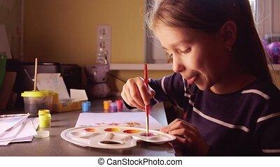 maison, peinture, peintures
