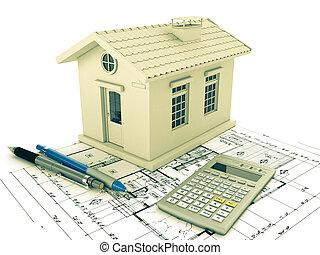 maison, planification