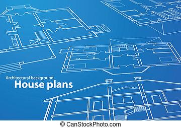 maison, plans