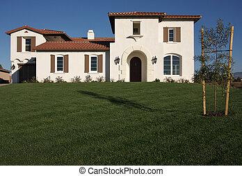 maison, récemment, constructed