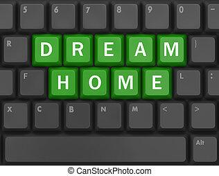 maison, rêve