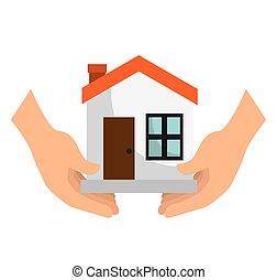 maison, sécurité, assurance