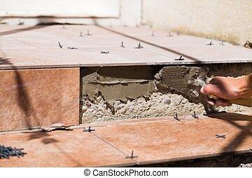 maison, sûr,  rénovation