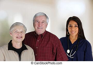 maison, services médicaux