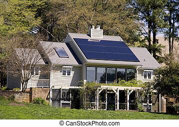 maison, solaire