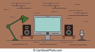 enregistrement maison studio quipement tout render composer conception collaborateur. Black Bedroom Furniture Sets. Home Design Ideas