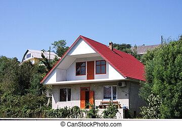 Maison colline baccialu corse vers maison florent for Maison sur colline