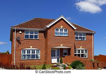 Maisons typique anglaise photographies de stock for Maison anglaise typique plan