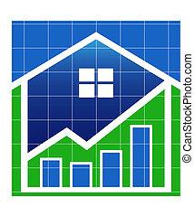 maison, valeur, marché