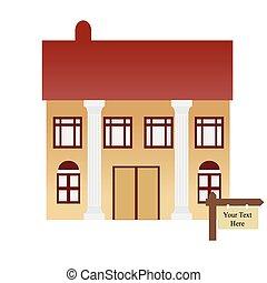 maison, vente, forclusion, ou