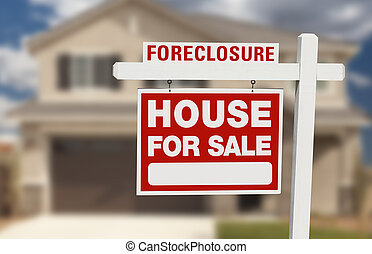 maison, vente, forclusion, signe