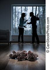 maison, violence, enfant