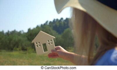 maison, vrai, rêve, posséder, venir