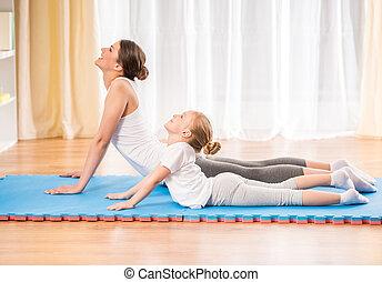 maison, yoga