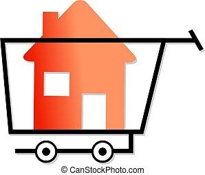 maisons, achats