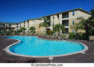 maisons, appartement, piscine, swimimng