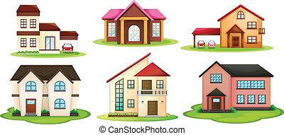 maisons, divers