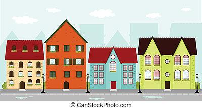 maisons urbaines
