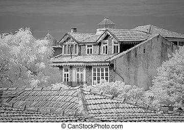 maisons, vieux, oporto