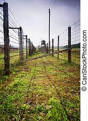 Majdanek - concentration camp in Poland. - Majdanek - German...