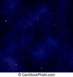 majestät, indigo, yonder., starry, mountains???, blaues, colors:, violett, wild, seamless, himmelsgewölbe, pattern., lila, glocke, hintergrund, (purple)