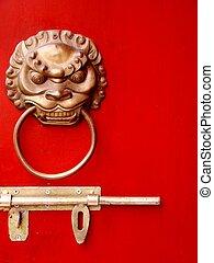 majestic chinese door knocker