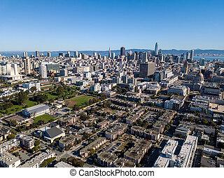 Majestic cityscape of San Francisco