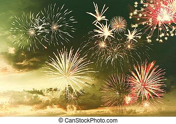 Majestic fireworks