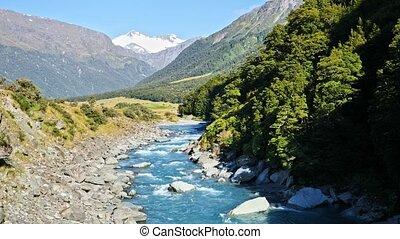Mount Aspiring National Park, New Zealand - Majestic...