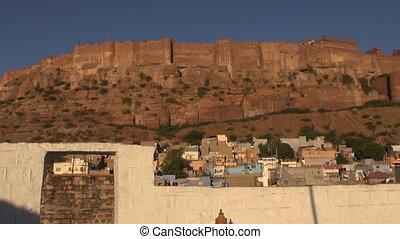 majestic Mehrangarh Fort in Jodhpur, Rjasthan, India