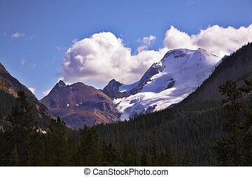 Majestic mountain landscape,