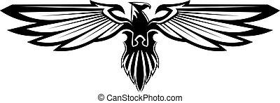 majestuoso, águila