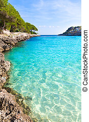 Majorca Cala Gran Dor beach in Mallorca Santanyi - Majorca...