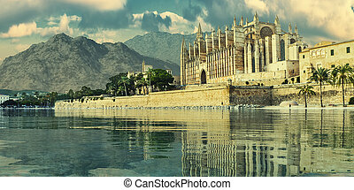 majorca, catedral