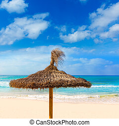 Majorca Es Trenc ses Arenes beach in Balearic - Majorca Es...