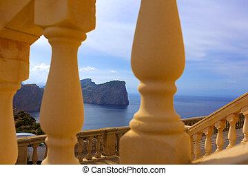 Majorca Formentor Cape in Mallorca Balearic