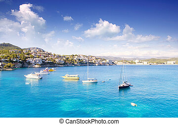 majorca, ilha, mediterrâneo, cala, fornells, mallorca