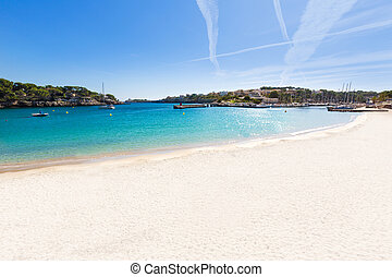 Majorca Porto Cristo beach in Manacor at Mallorca - Majorca...