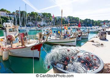 Majorca Porto Cristo marina port Manacor Mallorca - Majorca ...