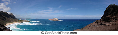 Makapuu Beach Panoramic