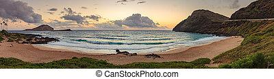 Makapu'u Beach Park Landscape - Makapu'u Beach Park ...