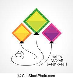 makar sankranti - Makar Sankranti festival vector ...