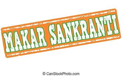Makar Sankranti stamp