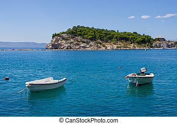 makarska, schiereiland, kroatië
