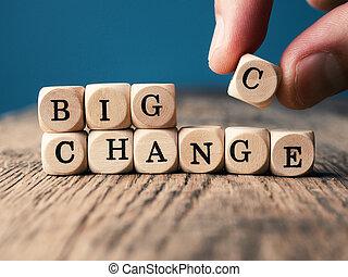 Make a change and take a chance