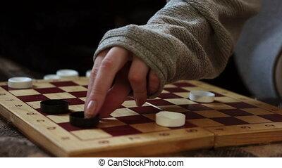 Make a move checkers on the Board