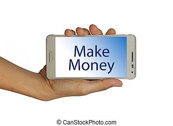 Make Money business concept
