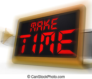 Make Time Digital Clock Means Fit In What Matters